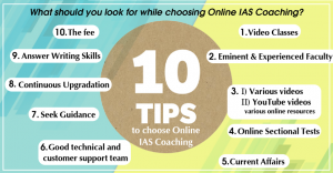 10 Tips to Choose Online IAS Coaching - PaGaLGuY