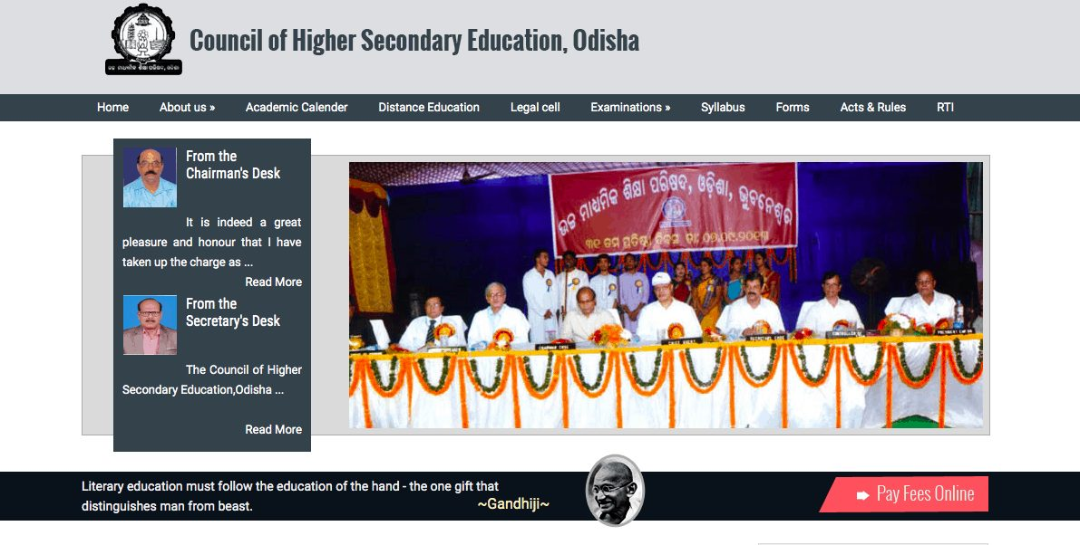 CHSE Odisha +2 Result 2019: Arts and Commerce Results