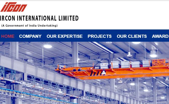 IRCON International Limited 2019 Recruitment