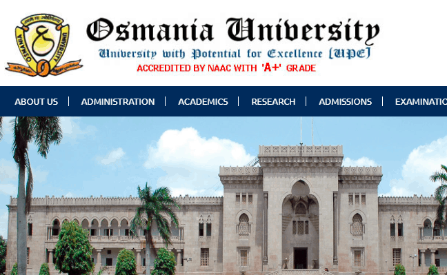 Osmania University 2019 Revaluation Result
