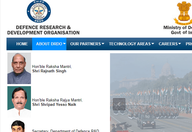 DRDO 2019 Recruitment for 06 Research Associate and JRF Posts