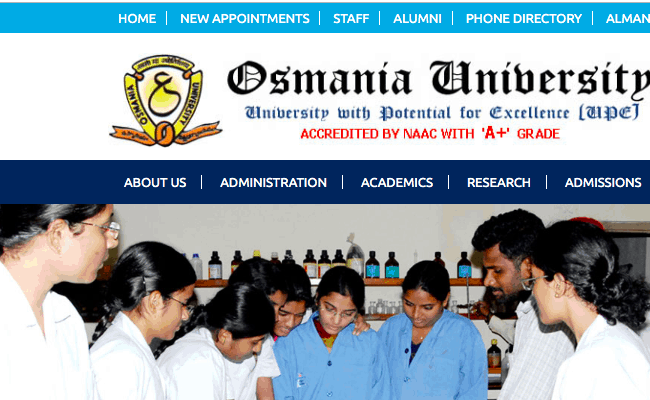 Osmania University Result 2019