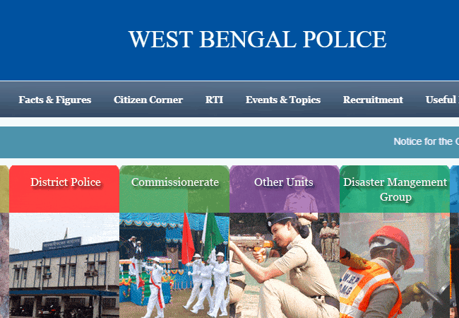 West Bengal Police 2019