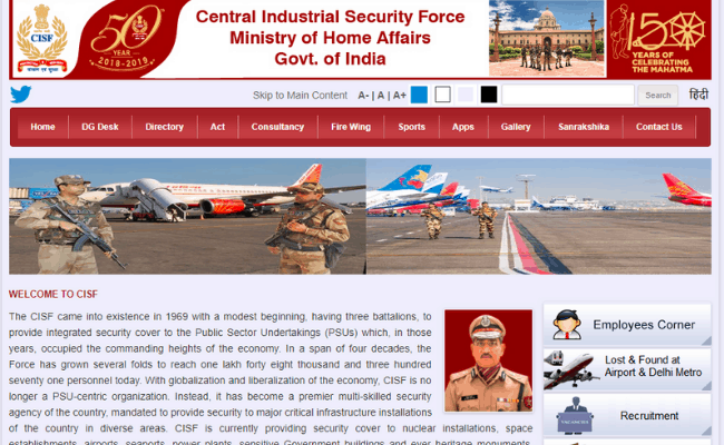 CISF 2019 Admit Card Released