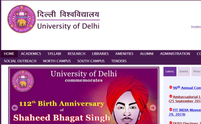 Delhi University brings Five Online Courses