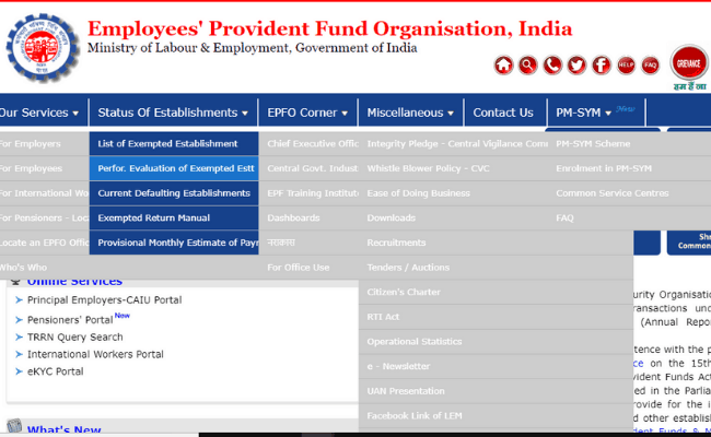 Results of EPFO Assistant Prelims 2019
