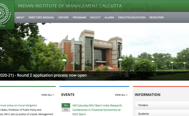 IIM Calcutta Placement