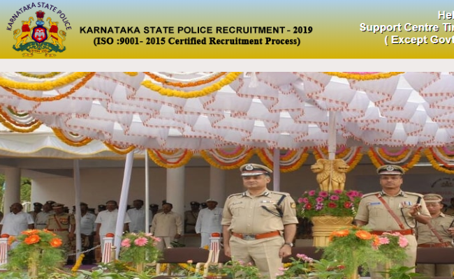 KSP Civil Constable Recruitment 2019 Answer key