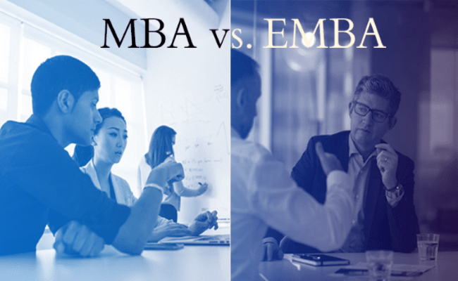 Which is better Regular MBA or Executive MBA