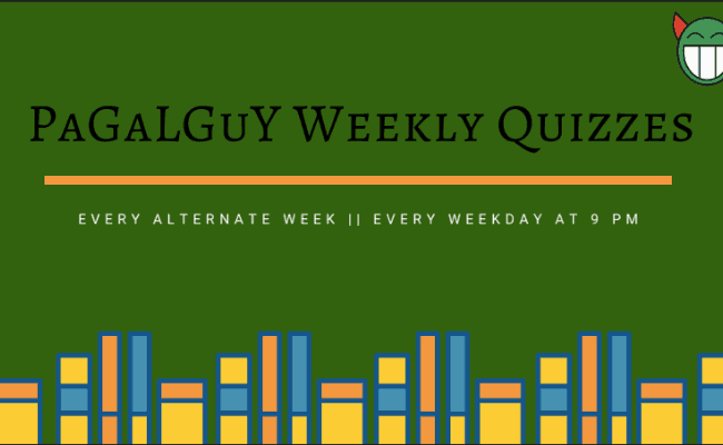 PaGaLGuY Weekly Quiz