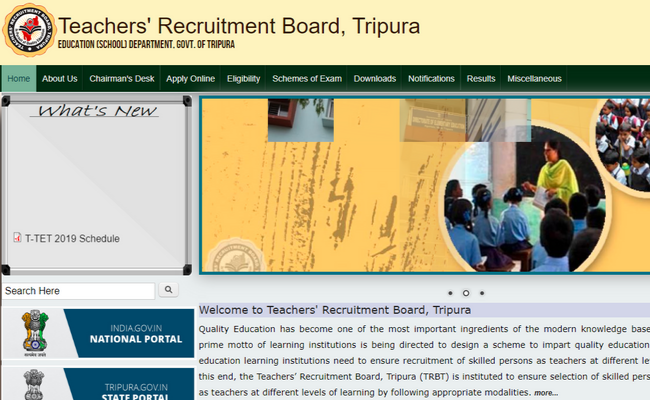 Tripura TET 2019 Exam Dates and Admit Card Released