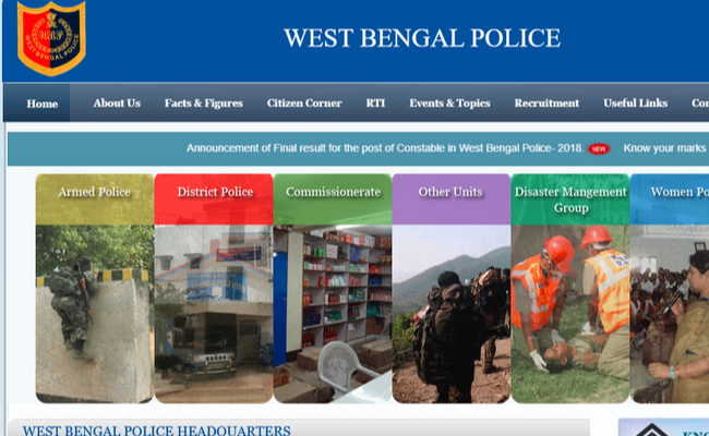 West Bengal Police Constable 2019
