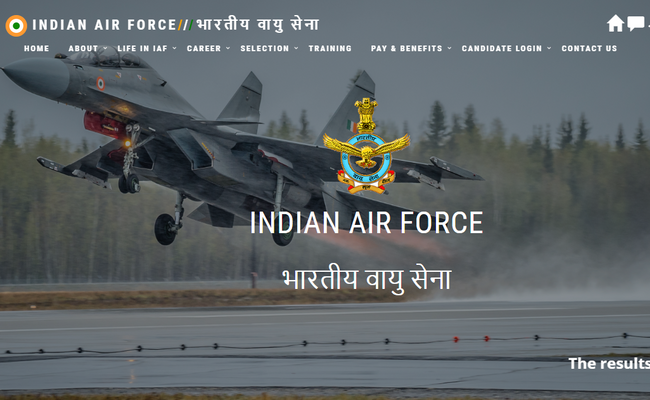 Airforce AFCAT Result 2019