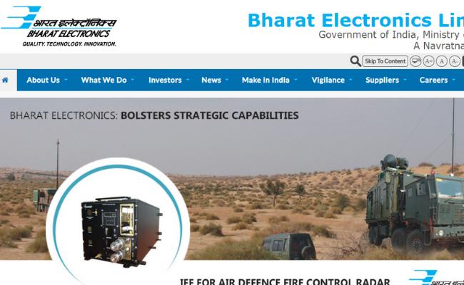 Bharat Electronics Limited Recruitment 2019