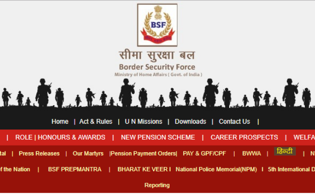 BSF Constable Result 2019