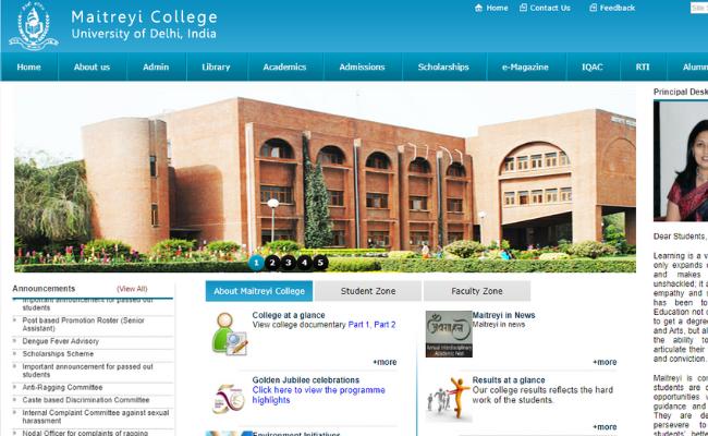 Delhi University Maitreyi College Recruitment 2019