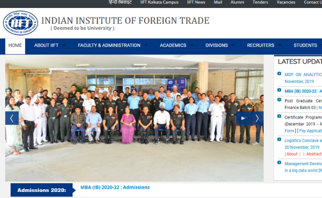 IIFT MBA 2020