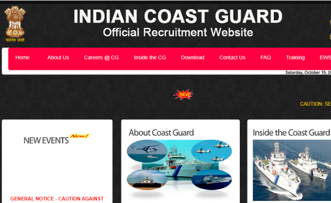 Indian Coast Guard 2019 Recruitment for Navik