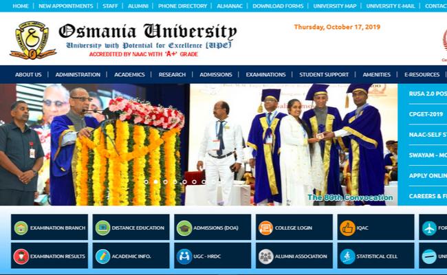 Osmania University UG Exam