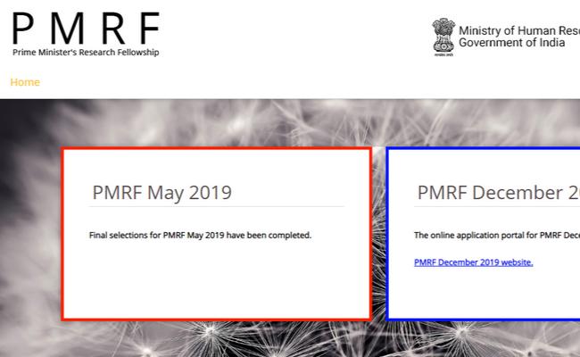 PMRF December 2019 Registration