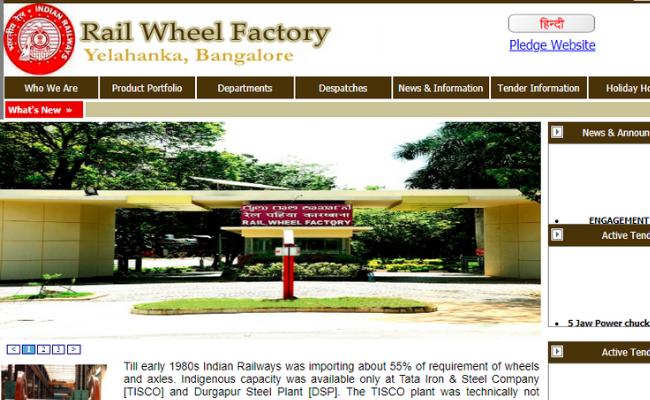 RWF Indian Railways Recruitment 2019
