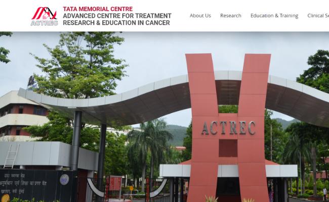 ACTREC Recruitment 2019