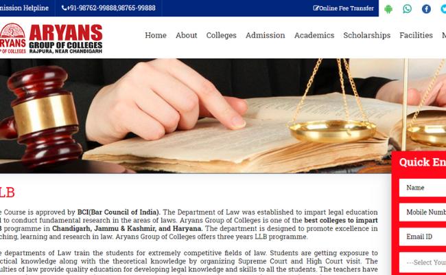 Aryans College of Law