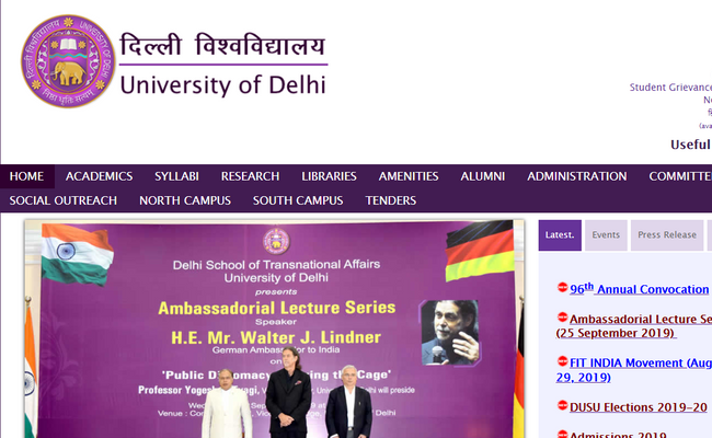 Delhi University (Ram Lal Anand College) Recruitment 2019