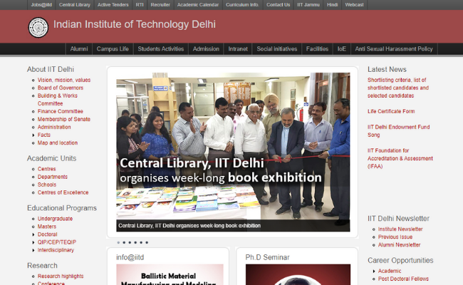 IIT Delhi Campus Placement 2019