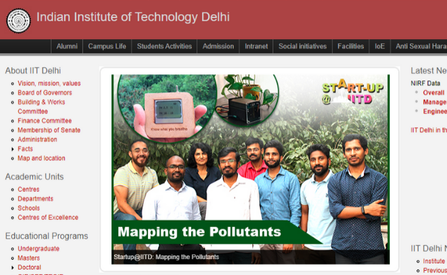 IIT Delhi Recruitment 2019