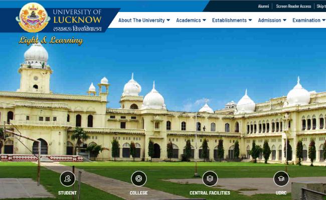 Lucknow University Recruitment 2019