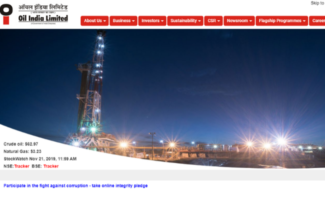 Oil India Recruitment 2019