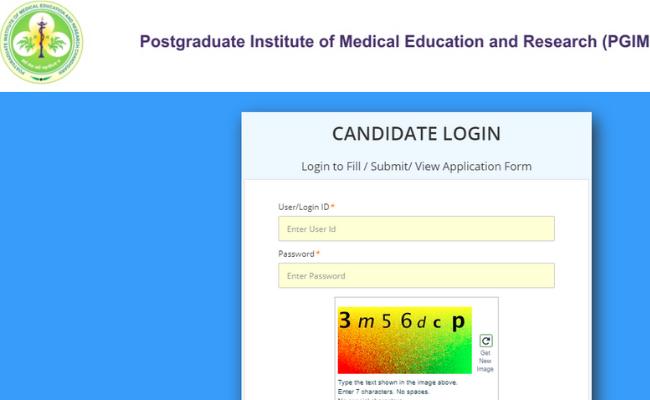 PGIMER MD/MS Admit Card 2020