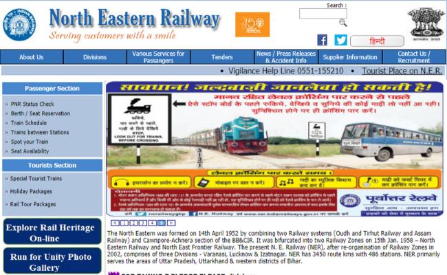 RRC North-Eastern Railway Recruitment 2019