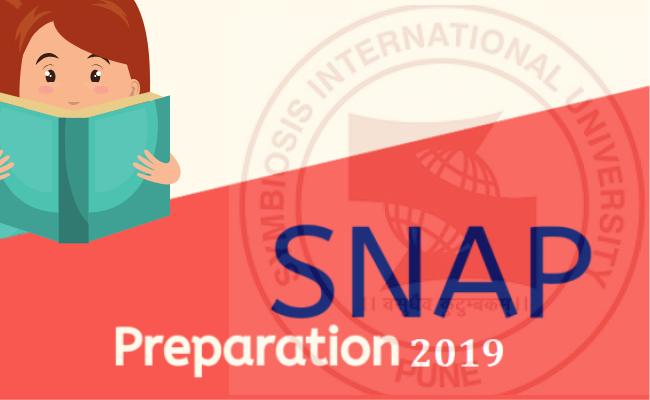 SNAP 2019 Preparation