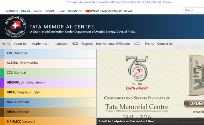 TMC (Tata Memorial Centre) Recruitment 2019