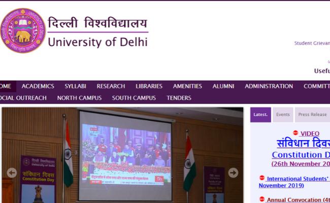 University of Delhi (DU) Recruitment 2019