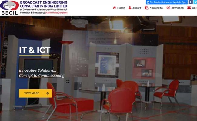 BECIL Delhi Recruitment 2020