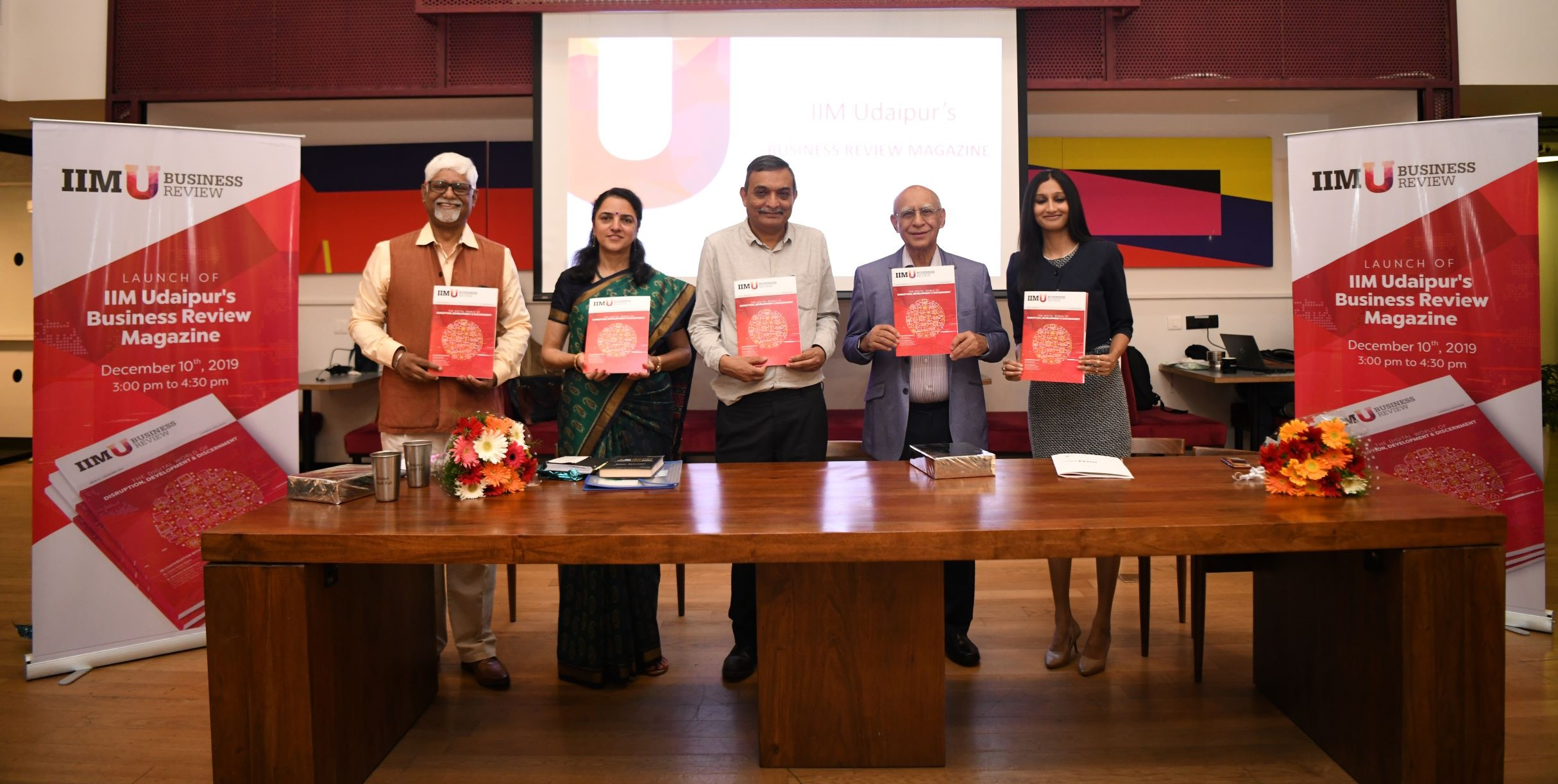 IIM Udaipur Launches Business Review Magazine
