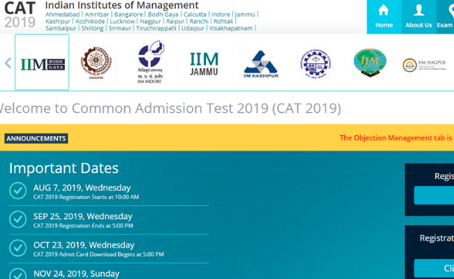 CAT 2019 Answer Keys