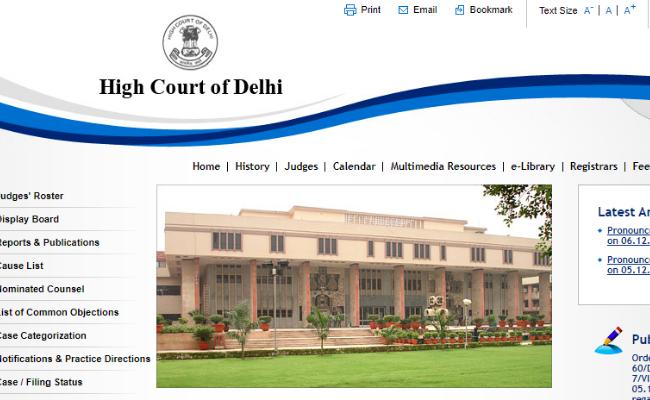 Delhi High Court SPA Translator 2019 Admit Card