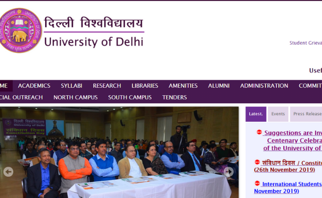 Delhi University (Hindu College) Recruitment 2019