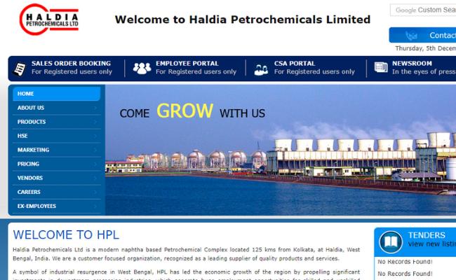 Haldia Petrochemicals Limited Recruitment 2019