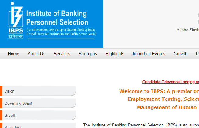 IBPS SO 2019 Admit Card