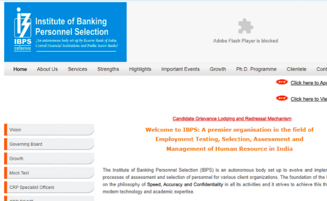 IBPS SO Prelims Admit Card 2019