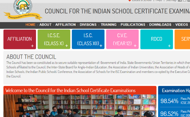 ICSE and ISC Date Sheet 2020