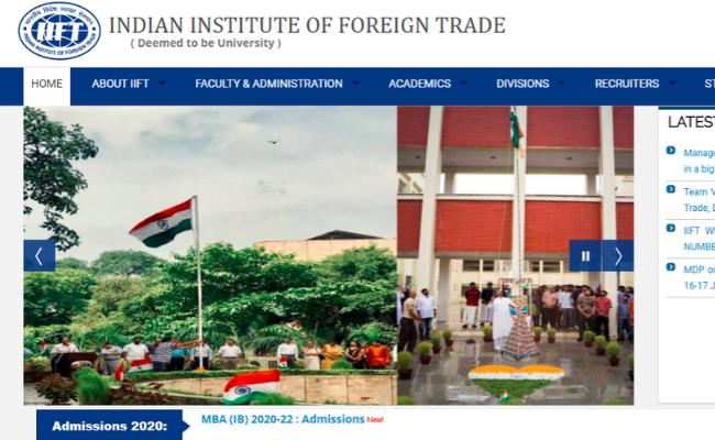 IIFT MBA (IB) 2020 Result