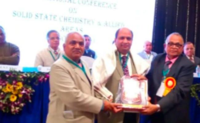 Jamia Millia Islamia professor Felicitated with 'Distinguished Scientist Award' 2019