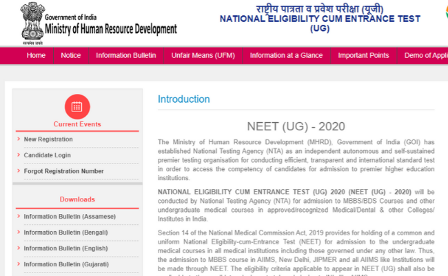 NEET Results among the top Listed Queries on Google in the Year 2019
