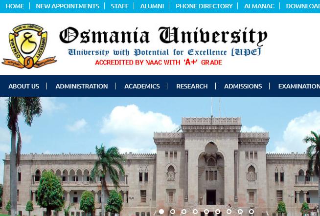 Osmania University Results 2019